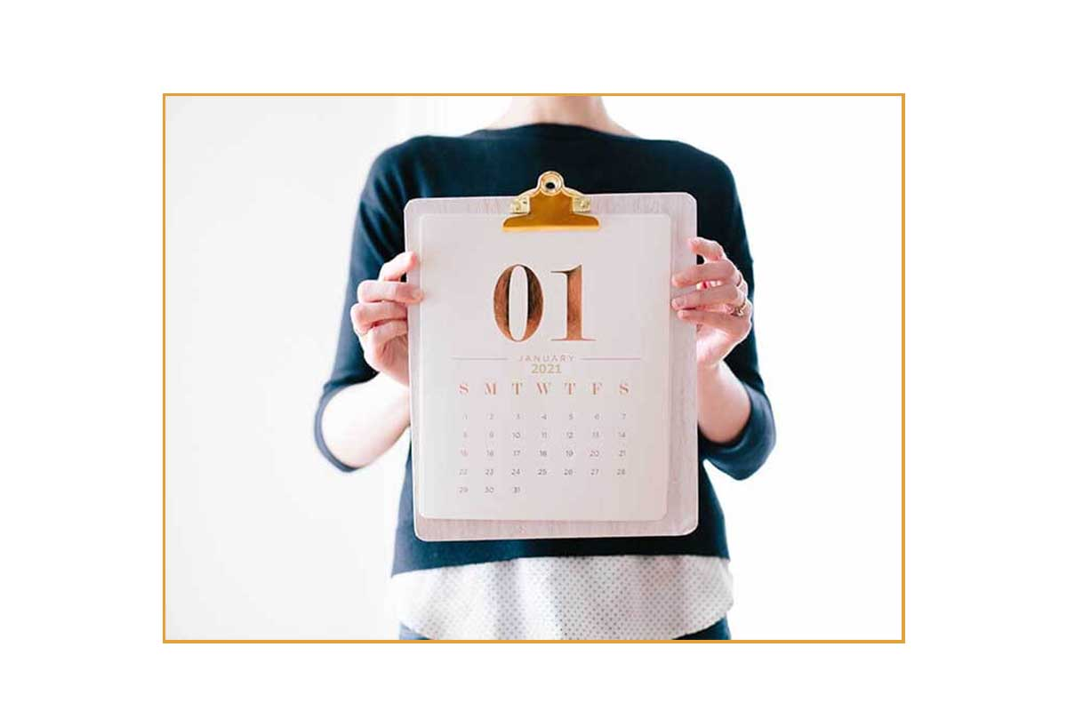 Have your content marketing strategy and calendar ready