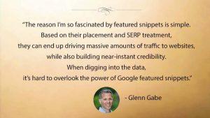 Featured Snippets Drive Massive Amounts of Web Traffic says Glenn Gabe