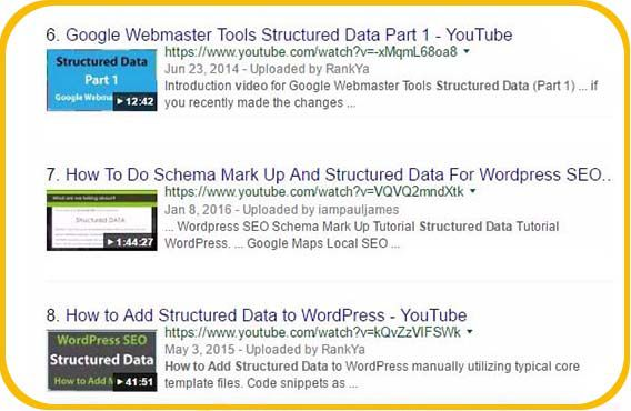 how to add Video Schema Structured Data to your website