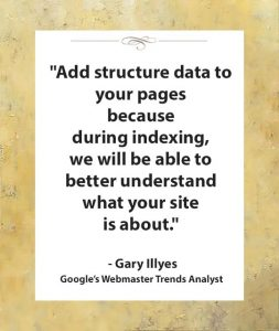 during indexing structured data helps