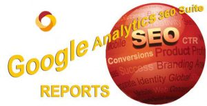 Organic SEO Campaign Metrics Gained from Google Analytics Queries Report