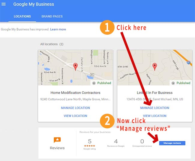how to write a google review on a business
