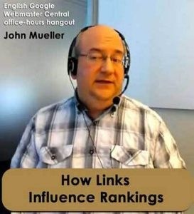 John Mueller: It Takes More than Backlinks to call a Page Good
