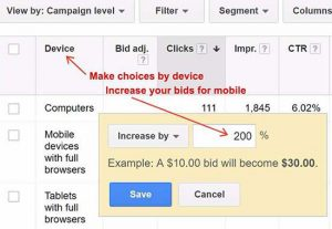 Leverage Google Ads for Mobile Buyers and how to adjust your mobile setting within AdWords