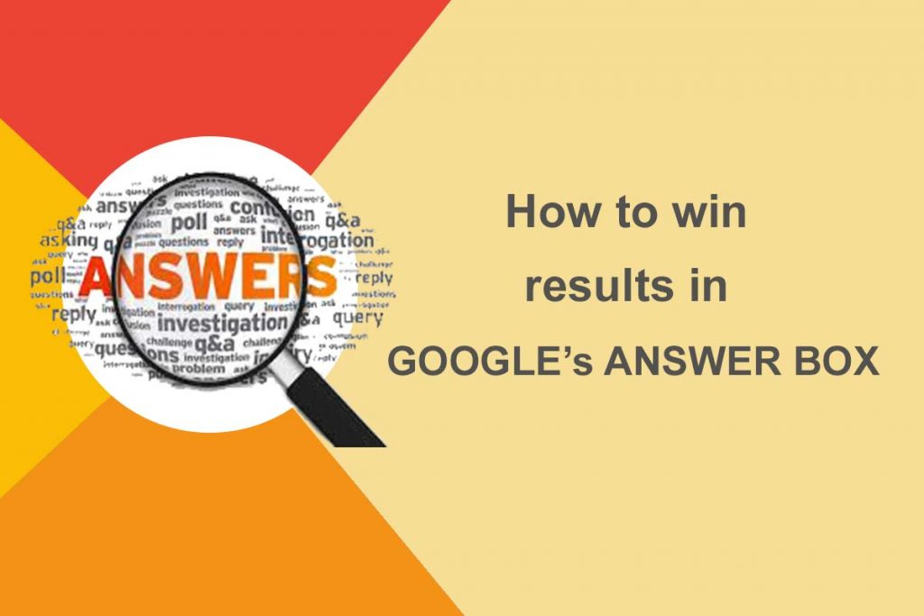 How to Obtain Google Answer Boxes in Search