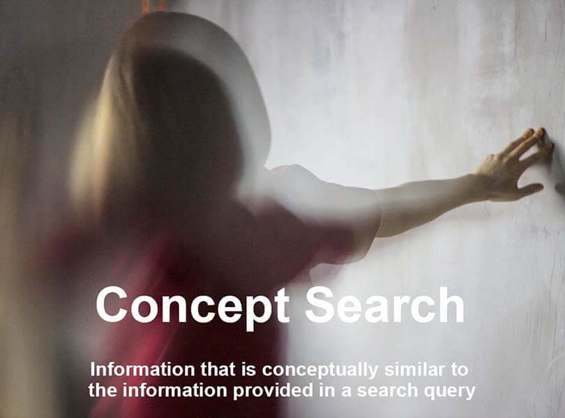 What is concept search?