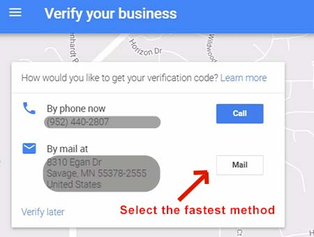 how to verify your GMB Minneapolis MN business listing