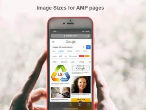 Valid image sizes for AMP pages