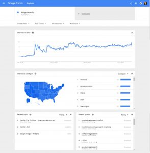 Trends in Google Image Search