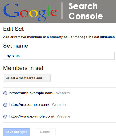 New Google Search Console Announcement: Property Sets