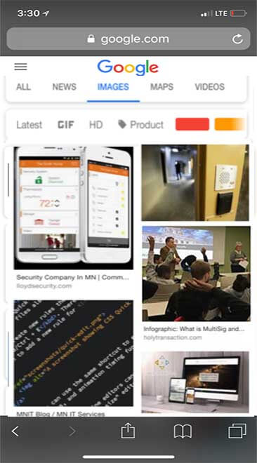 google news feed example
