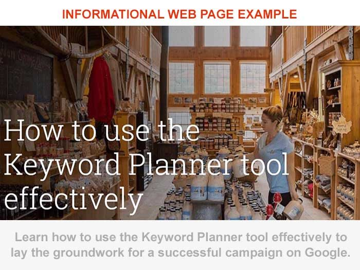 How to use Informational Long Tail Keywords
