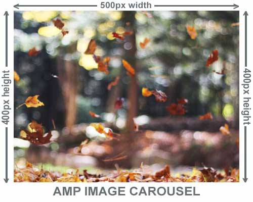 Mobile Image Galleries That Use AMP-Carousel