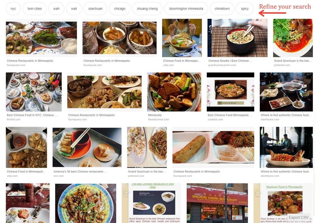 Place an Image First or High on each Web Page for Refined Google Image search results.