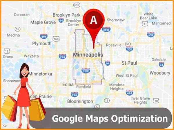 Minneapolis Google Maps optimization services