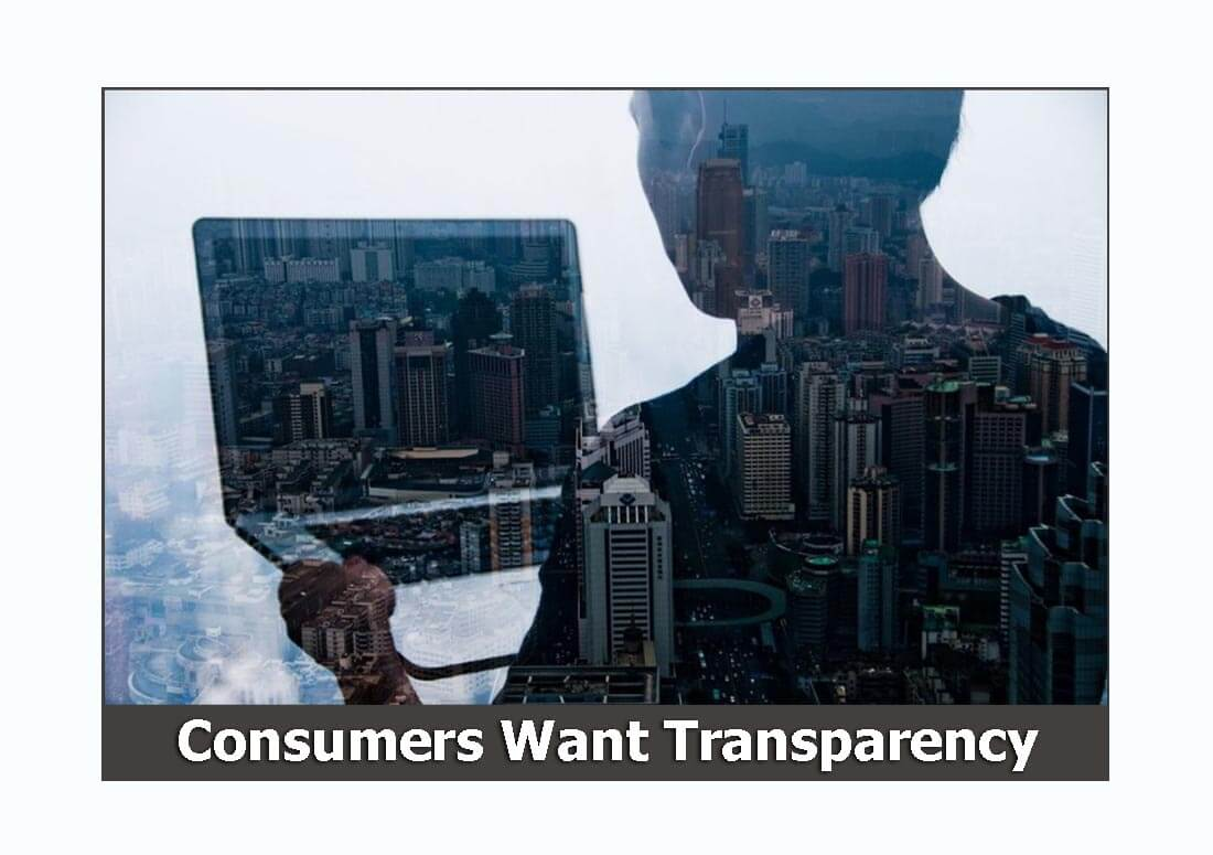 Consumers demand transparency when on-your website