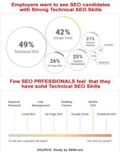 Businesses are in need of Strong Technical SEO Professionals
