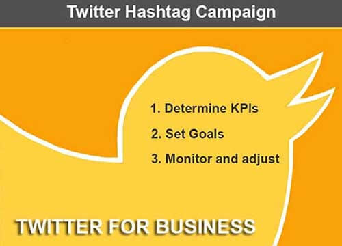 3 Steps to running an Effective Twitter Hashtag Campaign