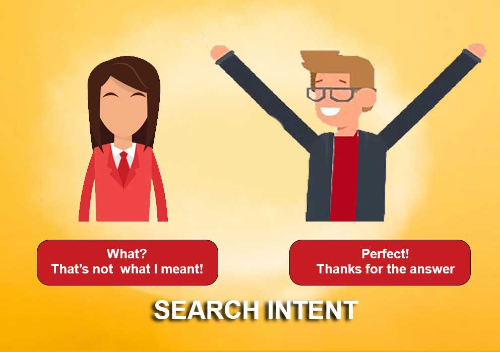 How to understand user's search intent