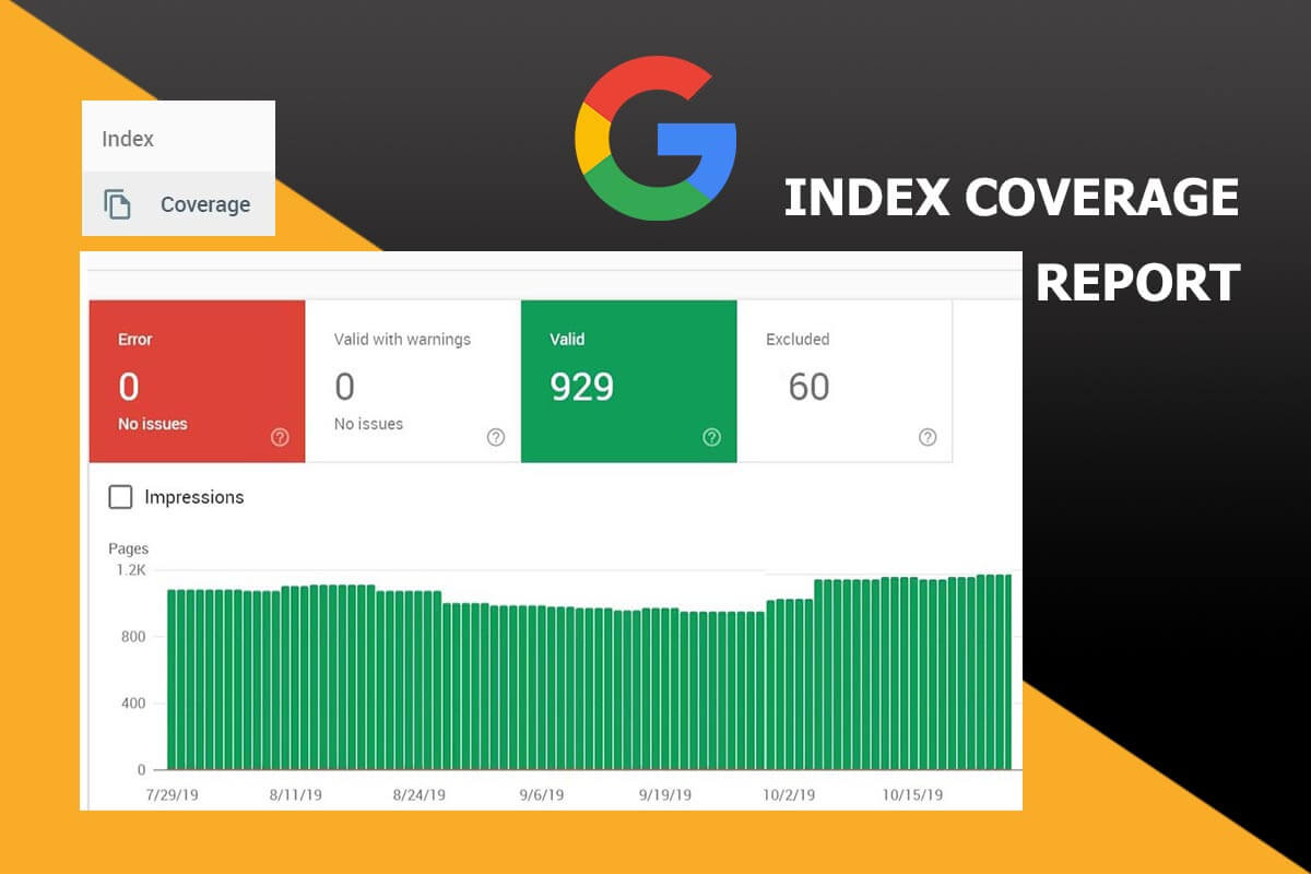 Indexing your Website Faster with the Google Index Coverage Report