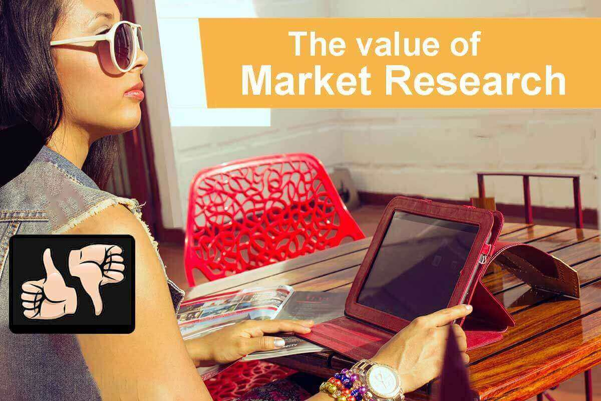 Market Research and what types are critical to your marketing