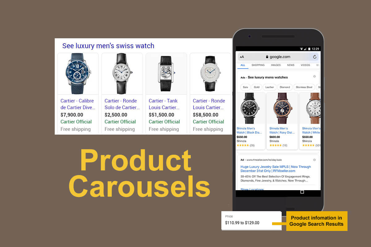 Google's Evolving Product Carousel Featured Snippet