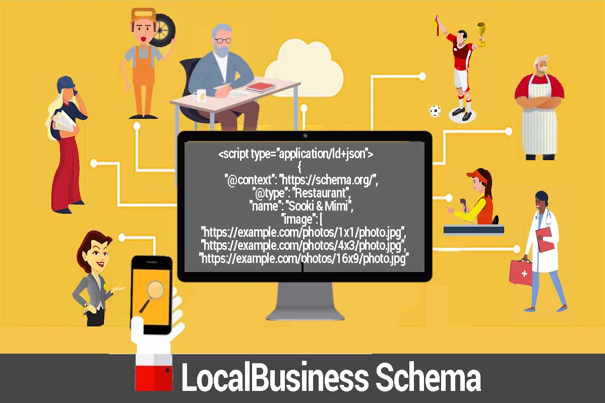 How to add Local Business schema to gain an appealing local business knowledge panel and SERP rich results: schema.org Local Business Markup.