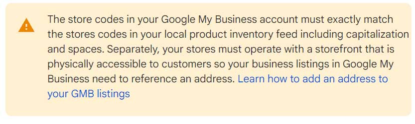 How to link the Google Merchant Center and Google My Business accounts